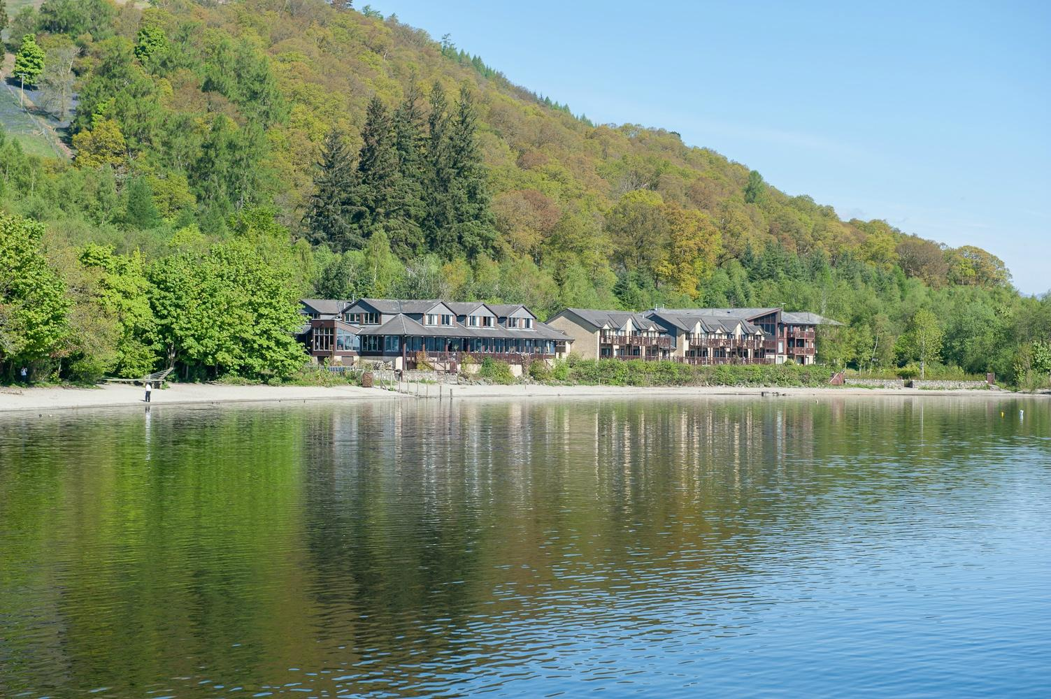 Lodge on Loch Lomond