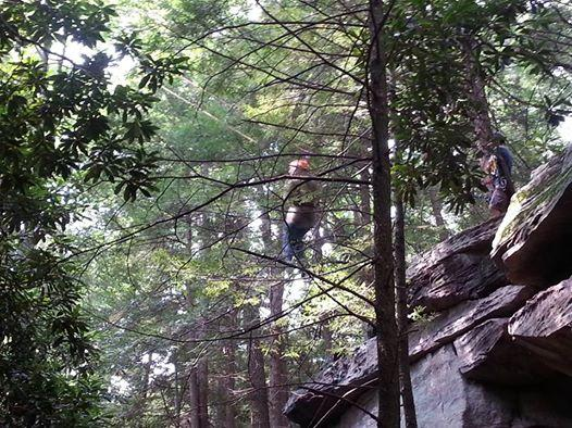 Coopers Rock Climbing Guides - Day Adventures