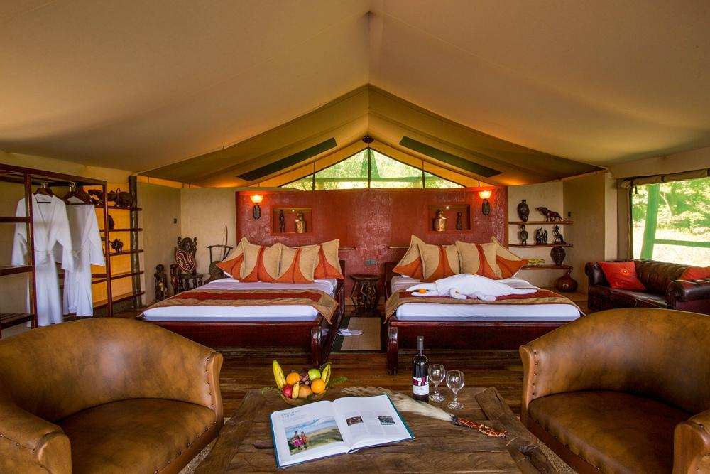 Mara Engai Wilderness Lodge