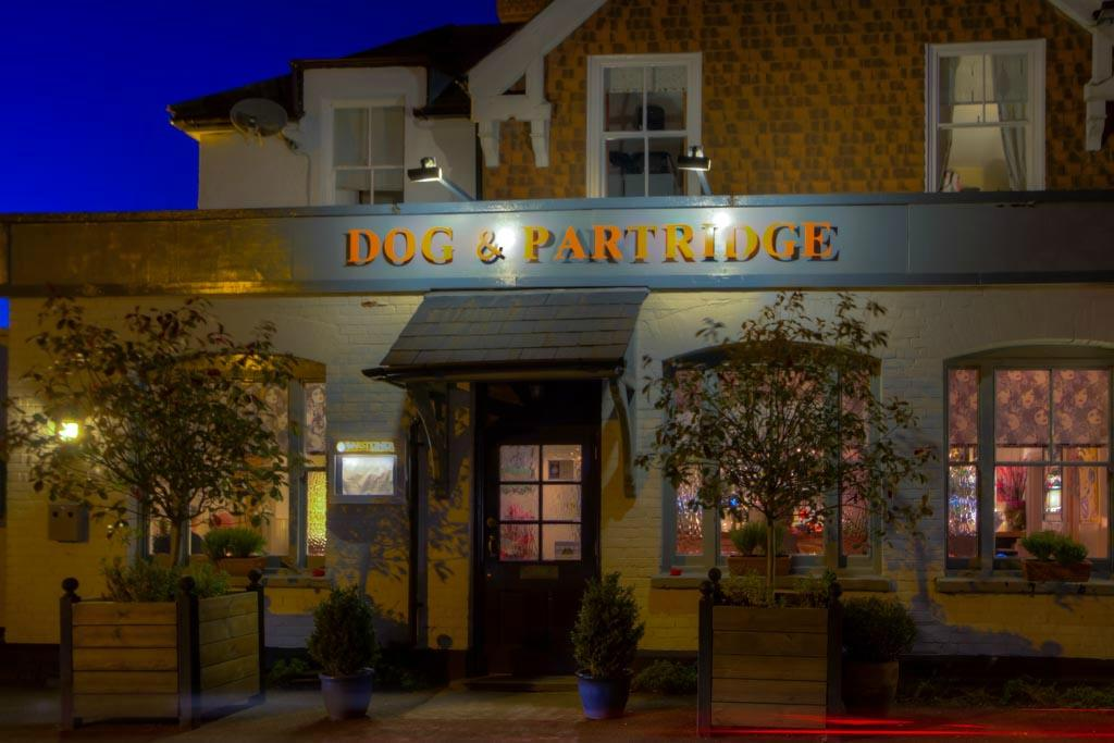 restaurant review reviews partridge sunninghill ascot windsor maidenhead berkshire england
