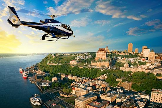 GoHelico - Quebec City From Above