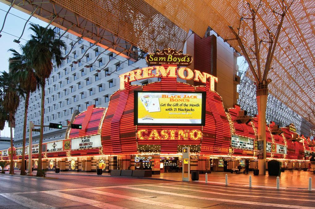 Casino on fremont street las vegas