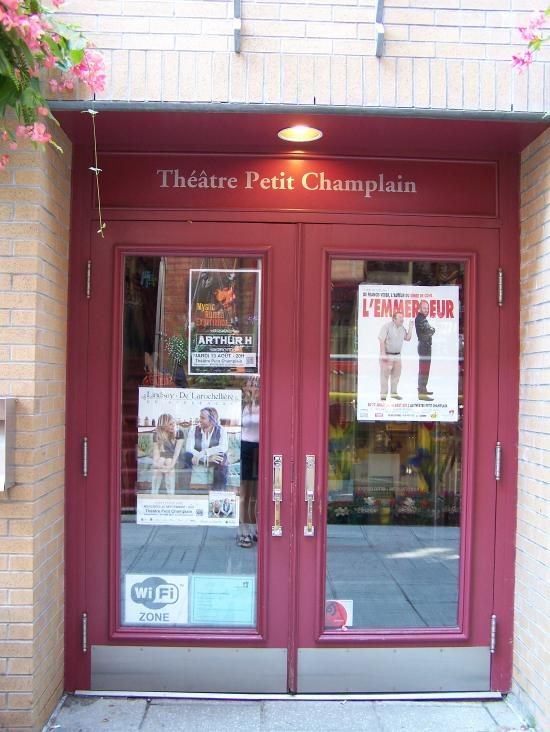 Theatre du petit champlain quebec city quebec hours for Theatre du petit miroir