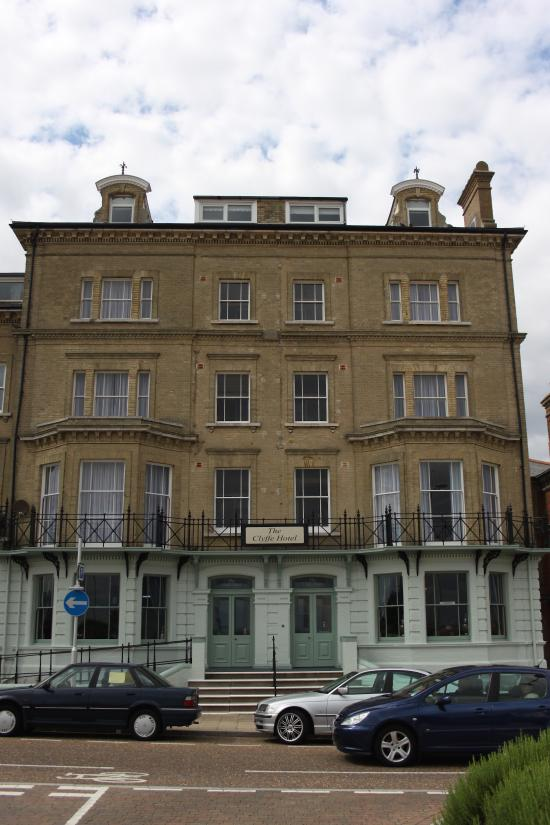The clyffe hotel boutique bed breakfast b b reviews for Best boutique hotels east anglia