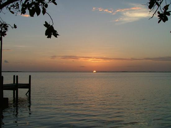 Key Largo, Floride : Sunset At The Caribbean Club