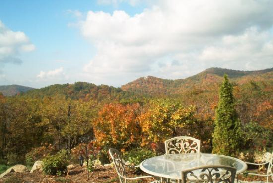 Boone, NC: Crestwood Terrace View