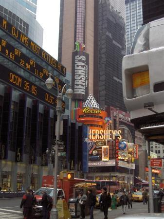 Times square new york city ny address phone number for Attractions near new york city