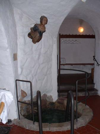 Lady Hamilton Hotel: Pic of the well and area around it