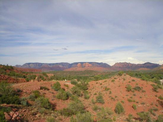 "Hilton Sedona Resort and Spa: View of the Sedona Rock Formations from the ""scenic loop"""