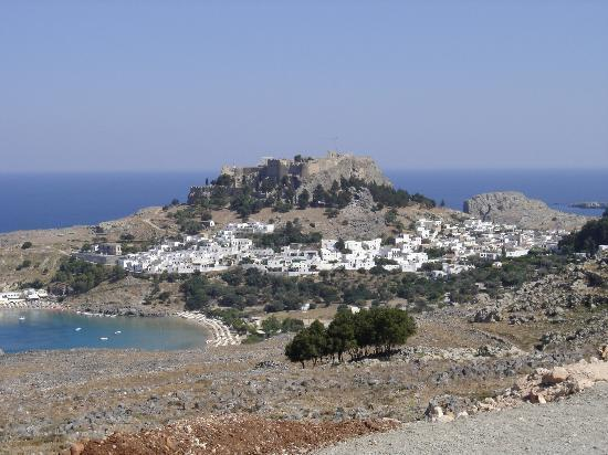 Ixia, Greece: Lindos (1 hour drive - well worth it!)