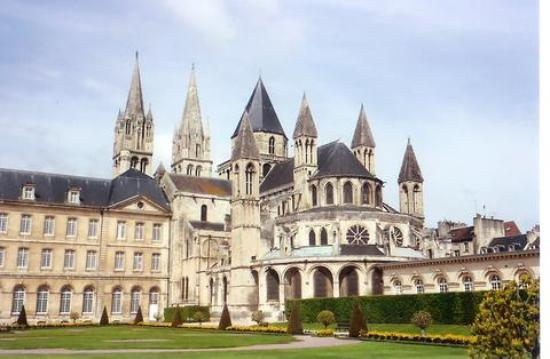 Caen, France: Abbey-Aux-Hommes