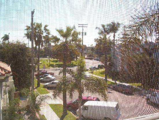 The Village Inn Coronado: View from window