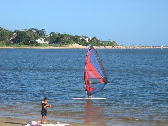 BEST WESTERN La Foret: Lots of watersports to be enjoyed in Punta del Este