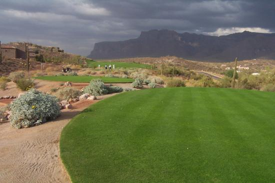 Gold Canyon, AZ: View Of Superstition Mountains