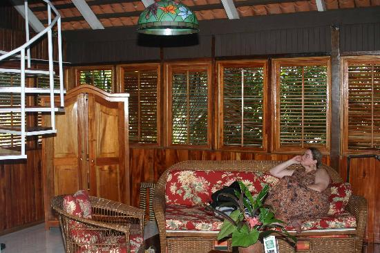La Paloma Lodge: Our private room