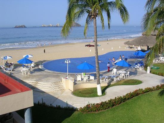 Posada Real Ixtapa: View from our room - 402