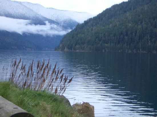 Port Angeles, WA: Lake Cresent, along the way