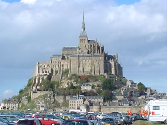 mont st michel upon arrival picture of abbaye du mont michel mont michel