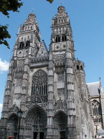 Tours, France : St Gatien Cathedral