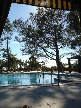 The Lodge at Torrey Pines: Poolside cabannas