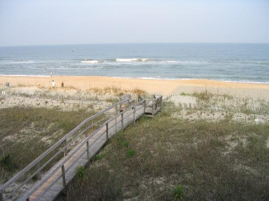 Carolina Beach, Caroline du Nord : View from our balcony 
