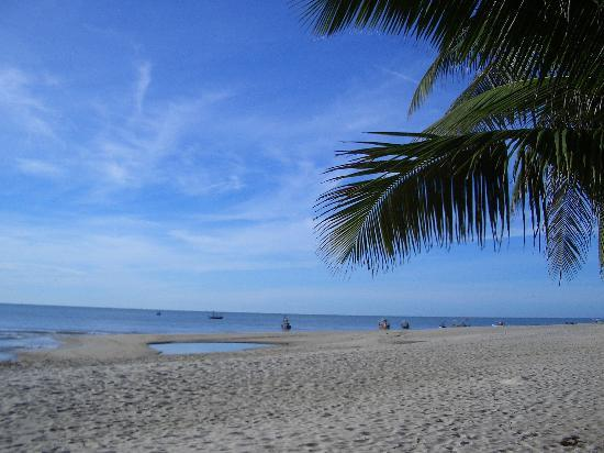 Cha-am, Thailand: Beach area