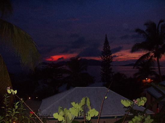 Sugar Mill Hotel: Sunset from Room