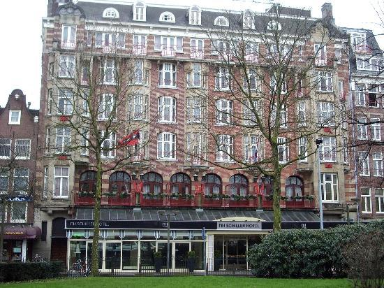 Restaurant picture of nh amsterdam schiller amsterdam for Appart hotel amsterdam