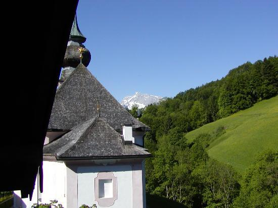 Hotel und Gasthaus Maria Gern: View from Balcony toward the South