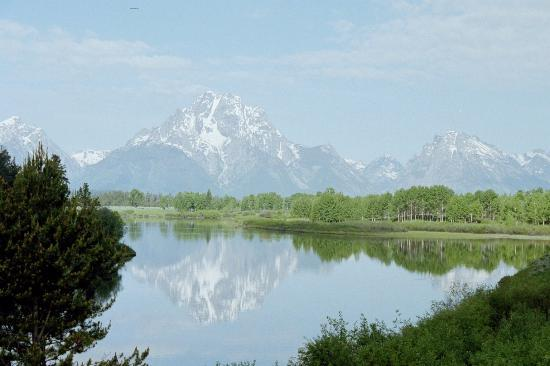 Inn on the Creek: Teton Reflection at Oxbow Bend