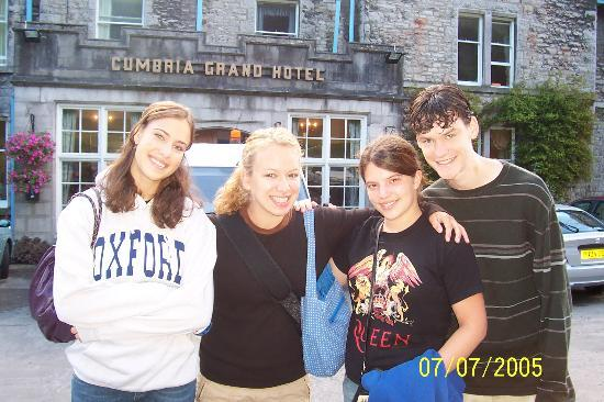 Grange-over-Sands, UK : Some of our students at the Cumbria 