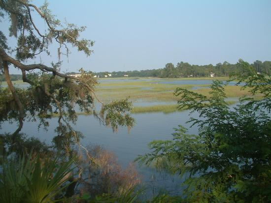 Beaufort, Carolina del Sud: view from the hotel