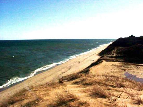 Wellfleet, : Cahoon Hollow facing south