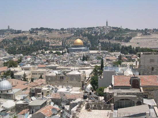 The King David: Old City view