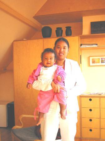 Noah's Ark Bed and Breakfast: me and Maïlys