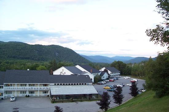 Sunset from front lawn picture of town country inn and for Town and country motor lodge gorham nh