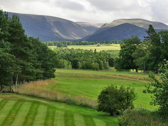 Aviemore, UK: View from Room