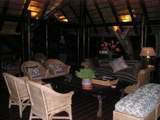 Kapama River Lodge: Kapama Lodge Deck