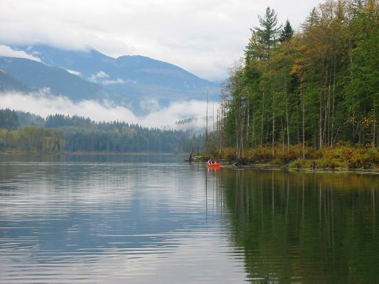 Revelstoke, Canad: The lake