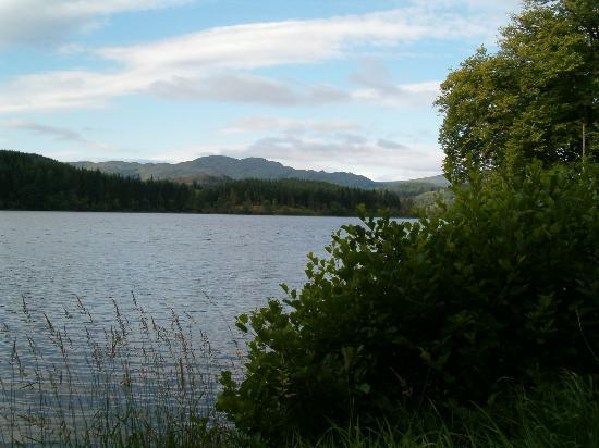 Aberfoyle, UK : Loch Ard at Twilight