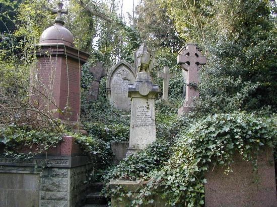 Highgate Cemetery Photo