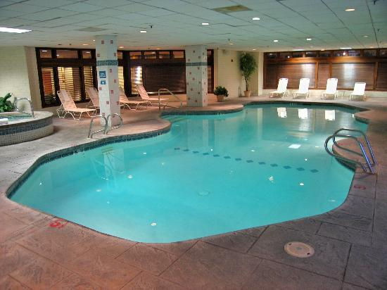 Indoor Pool Picture Of Denver Marriott Tech Center