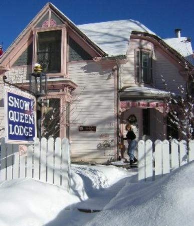 The Snow Queen Lodge in the Winter