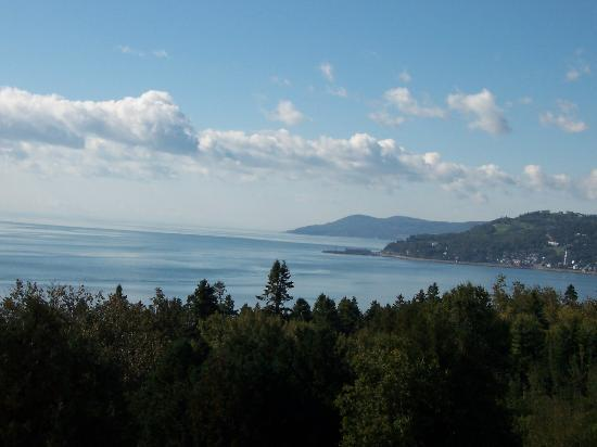 La Malbaie, Canadá: View from the bedroom