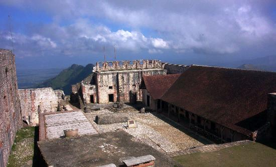 Cap-Haitien, Haiti: another view of courtyard