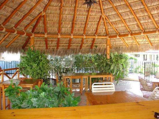 Andalaya Condominiums: inside of palapa.. perfect for relaxing and a game of cards