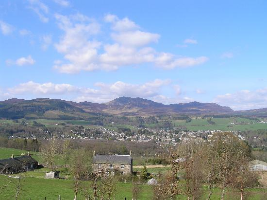 Pitlochry, UK: Tay valley