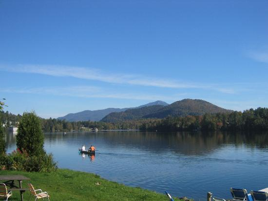 Lake Placid, NY: Outside of Room 110