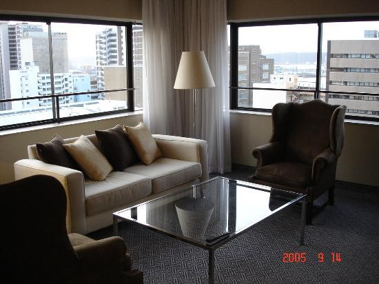 Royal Hotel: living room in my suite