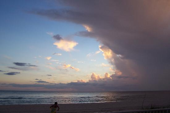 After a storm, Seascape Inn, Panama City Beach, FL